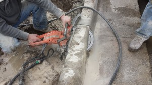 concrete ring sawing
