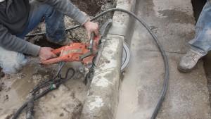 concrete ring sawing