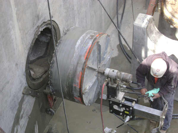 Cutting Holes In Concrete : Northwest indiana core drilling northern