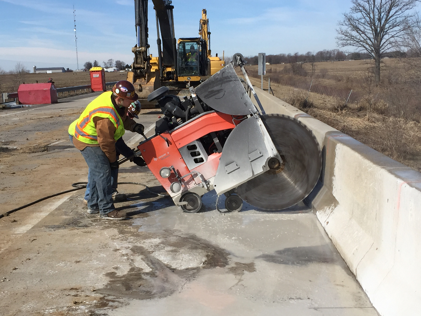 Slab Flat Sawing Northern Indiana Concrete Drilling